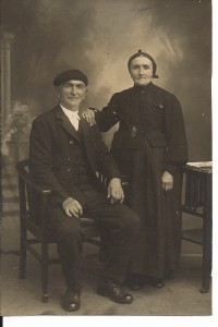 My great-great-grandparents.  THAT much is true.  I think....