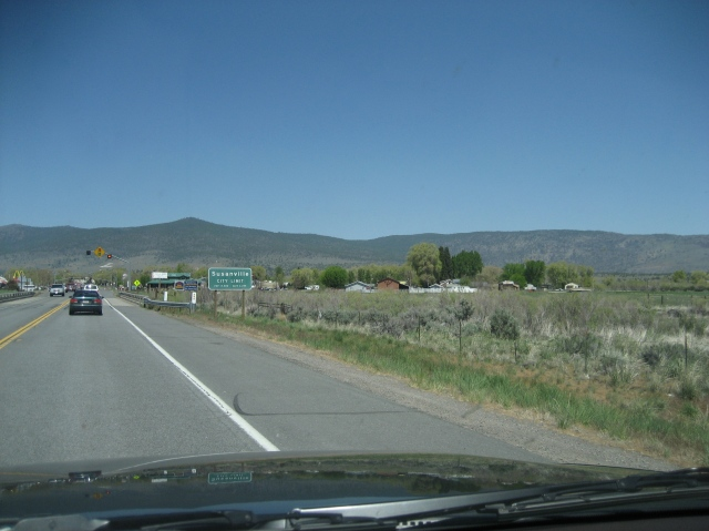 It only took 5 hours to reach Susanville.  Ok, it FELT like five hours.