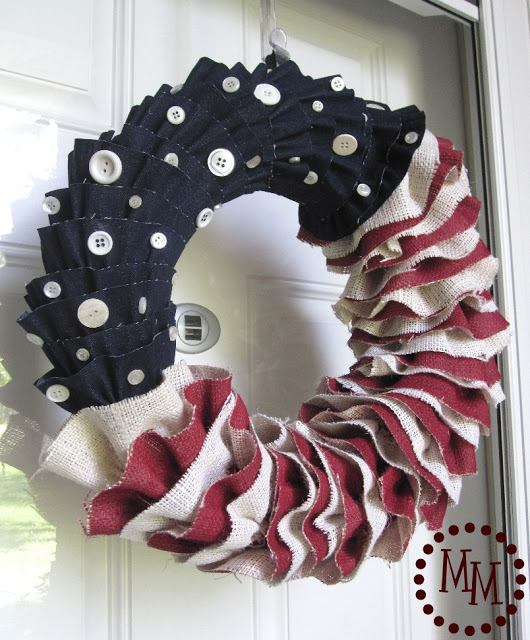 wreath from pinterest