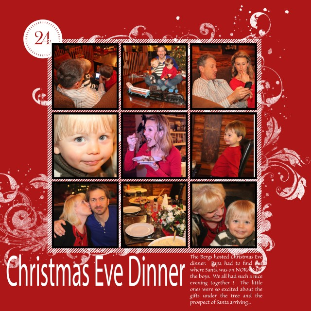 3x Christmas Eve