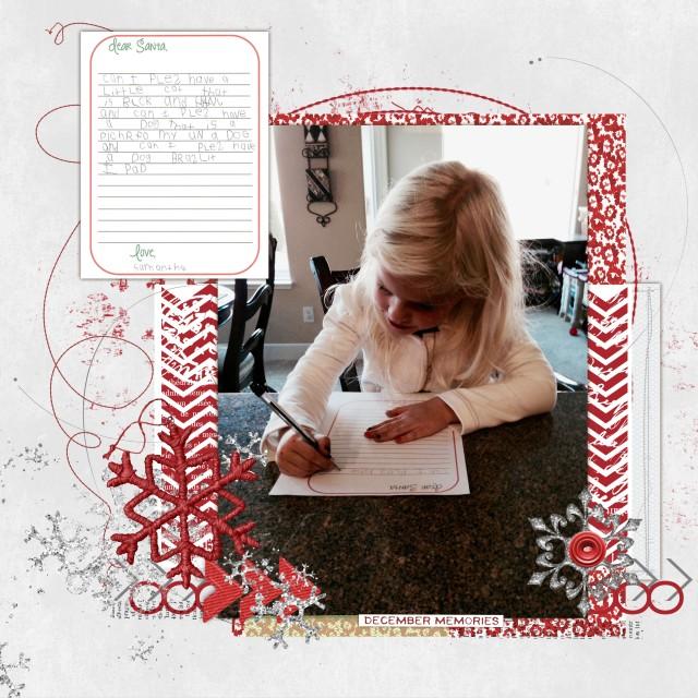 Sammy Santa Letter