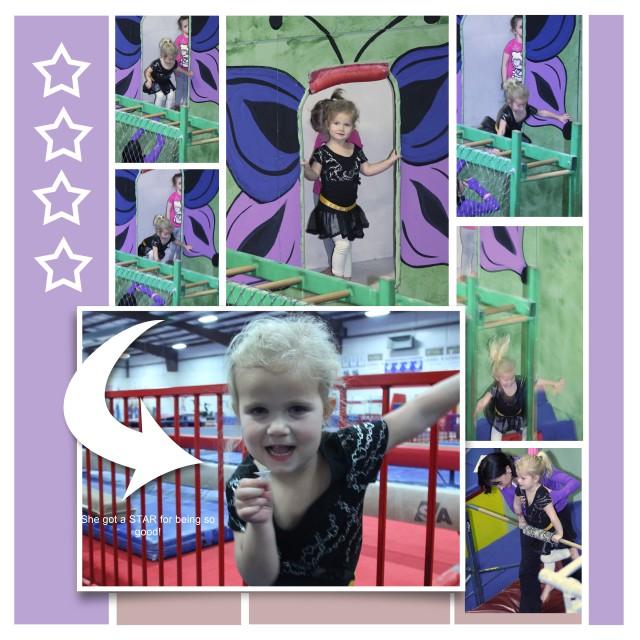 Olivia gymnastics 2