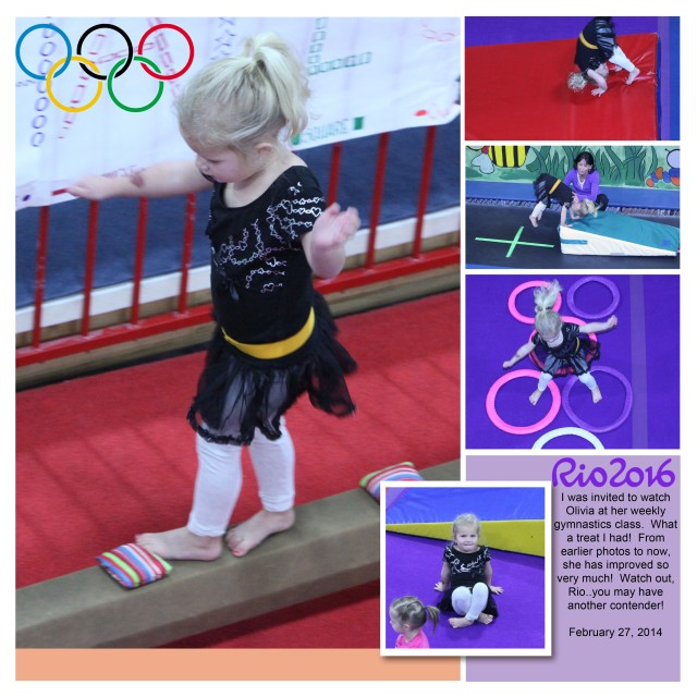 Olivia gymnastics